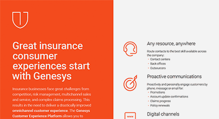 Great insurance consumer experiences start with genesys br resource center en