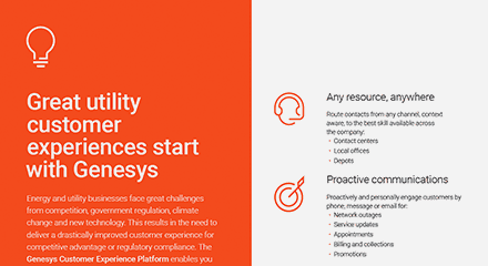 Great utility customer experiences start with genesys br resource center en