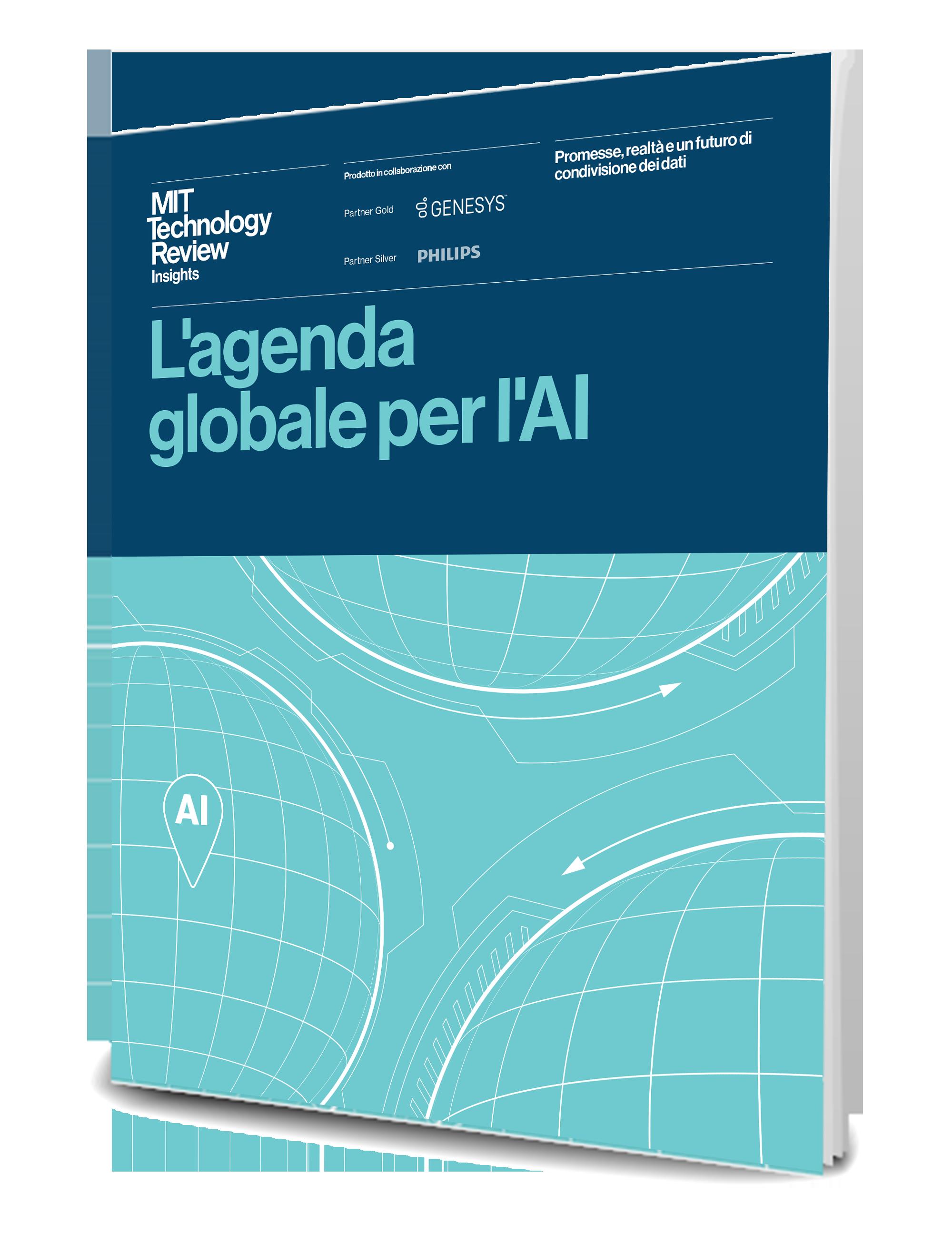 Mit tech review the global ai agneda thumbnail kit template 3d it