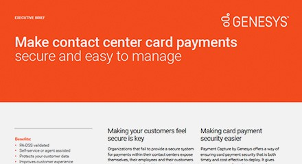 Making contact center card payments secure ex resource center en