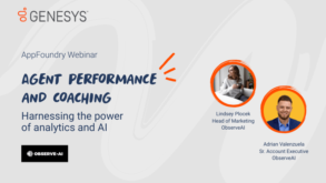 Agent performance and coaching: Harnessing the power of analytics and AI