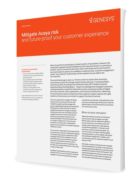 Mitigate avaya risk and future proof your customer experience ex 3d en