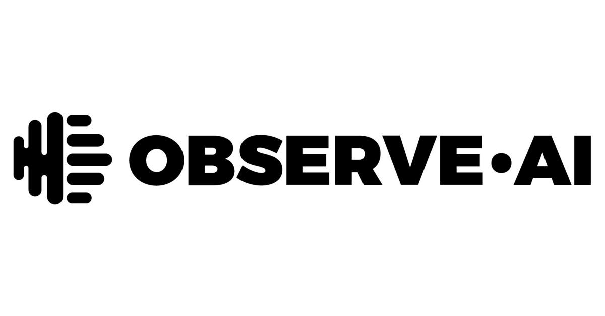 Observe full logo black no bg