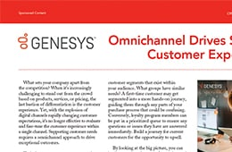 Omnichannel drives superior customer experiences ad nurture offer en