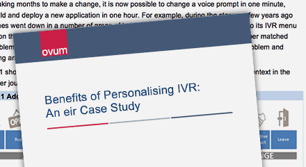 Ovum benefits of personalizing ivr an eir case study genesysuk resourcethumbnail qe