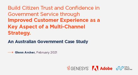 Psn trust in government report