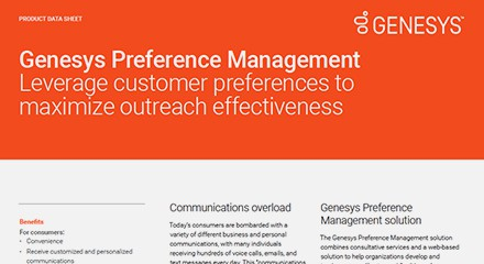 Preference management ds resource center en
