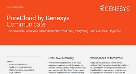 Purecloud by genesys communicate br resource center en