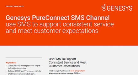 Genesys PureConnect SMS Channel