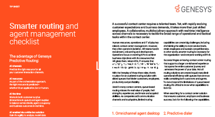 Smarter contact centre routing and agent management checklist rc 440x240px