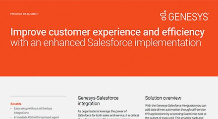 Genesys salesforce implementation
