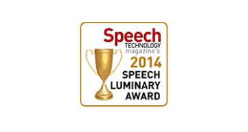 Speech industry speech luminary award 2014