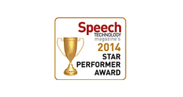 Speech industry star performer award 2014