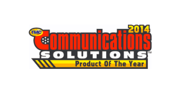 Tmc communications solutions product of the year award 2014
