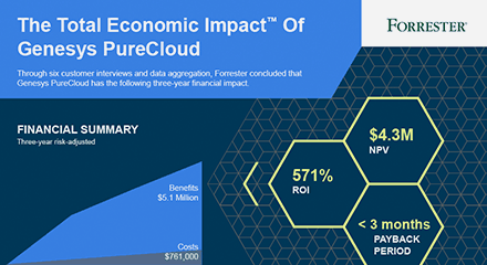 The total economic impact of genesys purecloud wp resource center en