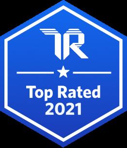 Trustradius 2021 topratedbadge