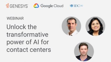 [Webinar Bytes] Unlock the transformative power of AI for contact centers