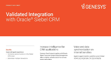 Validated integration with oracle resource center en