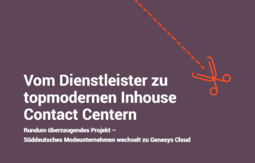 Vom dienstleister zu topmodernen inhouse contact centern