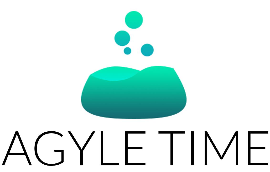 Agyle time logo stacked