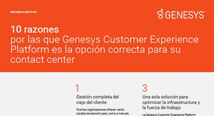 C1043d8e 10 reasons why the genesys customer experience ex resource center es