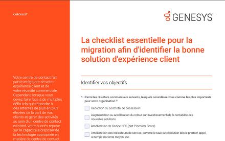 Checklist fr