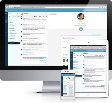 Cloud contact platform