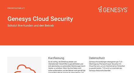 Cloud security de