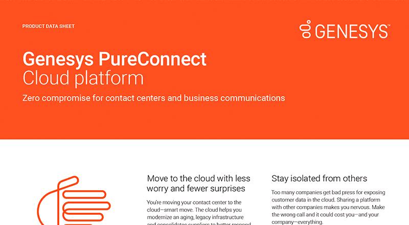 Genesys pureconnect cloud platform ds sidebar en