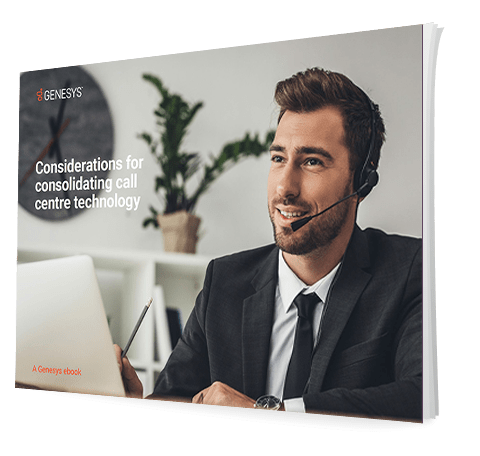 Consolidating tech in mid size call center eb 3d qe