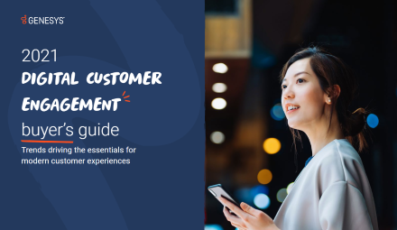 Digital customer engagementsm