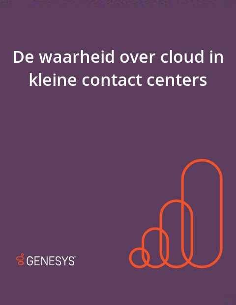 Nl cloud in kleine contact center