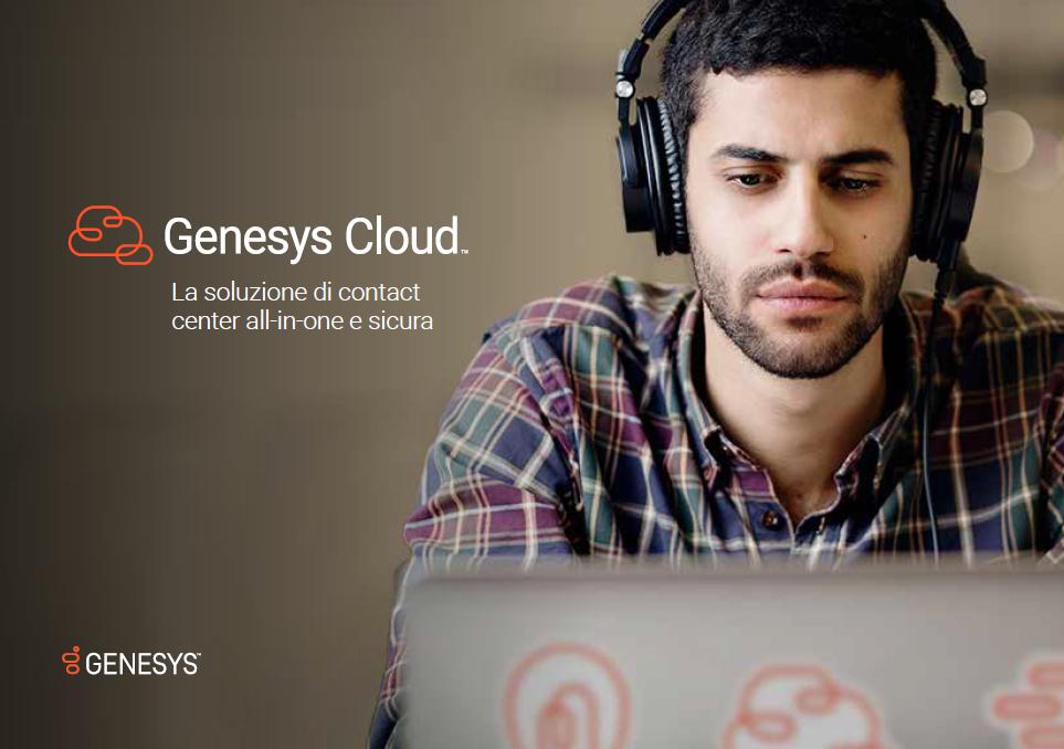 Genesys cloud brochure it