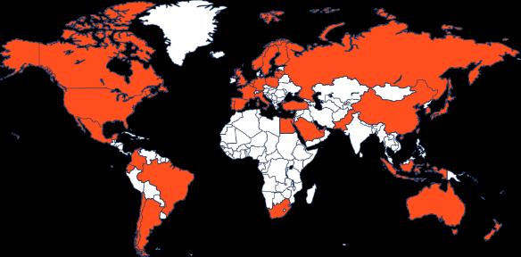 Partner map