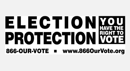 Election protection logo