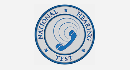 National hearing test (communication disorders technology) logo