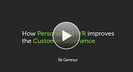 Resource center personalized ivr cx video